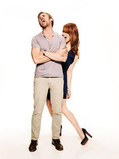 Ryan Gosling and Emma Stone: Crazy Stupid love cast Crazy Stupid Love, Love Cast, Star Pictures, Star Pics, Ryan Gosling, Attractive People, Emma Stone, Best Couple, Celebrity Crush