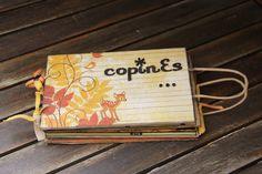 Parce que toutes ses copines avaient eu un album et que, elle, elle n'en avait même pas un ! Voici l'album que j'ai réalisé pour Coraline. Il retrace ses amitiés au fil des ans...