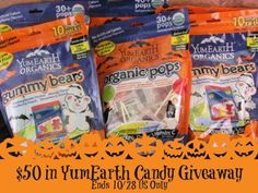 Top Notch Material: $50 YumEarth Candy Giveaway