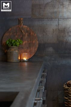 Concrete Kitchen Design Combine creative designs with top German kitchen supplier's superior quality materials and what do you get? The perfect mix of an all-origi Interior Design Shows, Decor Interior Design, Küchen Design, House Design, German Kitchen, Concrete Kitchen, Japanese Interior, Interior Garden, Tealight Candle Holders