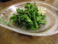 あれ?おいしい!菜の花のおひたし by らぶてるお [クックパッド] 簡単おいしいみんなのレシピが258万品