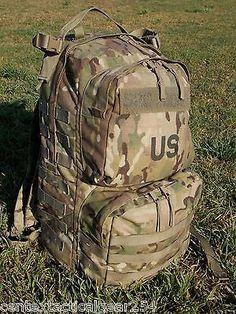 MULTICAM MEDIUM RUCK SACK OCP ARMY BACKPACK W/ FRAME MILITARY RUCKSACK BAE SDS