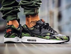 Atmos x Nike Air Max 1 PRM Tiger Snake Camo - @trimstupidino