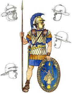 Legionario Romano, II-I secolo a.C