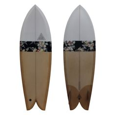 http://chicerman.com beyondfabric: The Herring (5'8) by Feelflows Surfboards Feelflows Surfboards is my brothers latest project focused on a surfing and skating universe reminiscent of old-school California. This fish model is one of my personal favourites as fabric finds its way into unexpected uses: the floral print on the board is actually from Lightning Bolts collection and simply elevates the board to a whole new level. #MENSUIT #TAILORSUIT