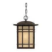 Hillcrest Hanging Lantern In Imperial Bronze (item #RS-03QZ-HC1909X)