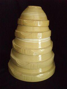 vintage nesting mixing bowls