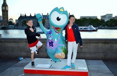 The official mascot for the 2012 Summer Olympic Games, Wenlock is animation depicting a drop of steel from a steelworks in Bolton. It is named Wenlock, after the Shropshire town of Much Wenlock, which held a forerunner of the current Olympic Games.    After Sunset, South Bank, London