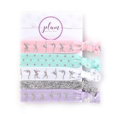 Ballet Party Favors 5 Pack Premium Handcrafted Hair Ties Bracelets Birthday Baby Shower Bridal Bachelorette Recital Gifts Supplies Decorations