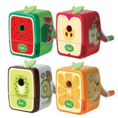 Effective hand-operated fruit fun pencil sharpener Sharpener machine 0671 cute pencil pencils pencil sharpener Knife knives - DinoDirect.com