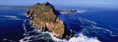 Cape Point Tour - Explore the majestic scenery of the Peninsula and enjoy the Cape Point Private Full Day Tour with amazing views from Chapman's Peak Drive. Cape Town Tour Guide will enhance your trip in South Africa. South Africa Tours, Cape Town South Africa, Two Oceans Meet, Destinations, Beau Site, Excursion, Table Mountain, Pretoria, Nature Reserve