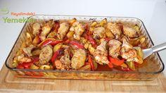 fırında sebzeli kanat Homemade Beauty Products, Chicken Wings, Salsa, Health Fitness, Meat, Ethnic Recipes, Food, Youtube, Essen