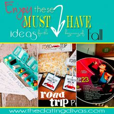 Flashback to September 2011 and enjoy these fabulous ideas to use as dates or quick and easy ideas to put a smile on your spouses face. www.thedatingdivas.com #datenight #date ideas #presents #spouse presents #quickandeasy