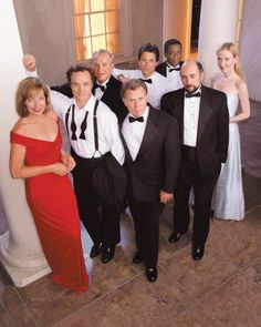 The West Wing - can watch it over and over and never be bored!