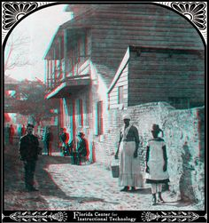 Image detail for -old spanish house charlotte street st augustine florida photographer ...