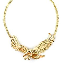 Eagle Necklace Gold