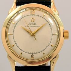 1949 Omega Automatic Ref. 2597-2 14k Yellow Gold Filled Watch