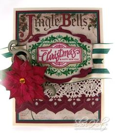 Christmas Antique Labels One card designed by Sheri Holt.