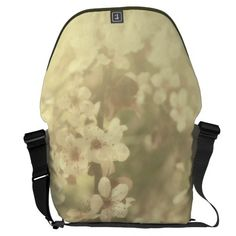 Gold Tone Travel Messenger Bag