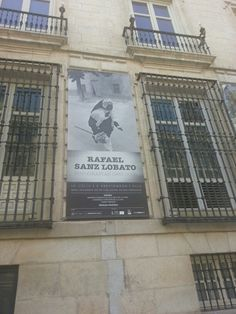 Cartel de la expo de Rafael Sanz Lobato en La Real Academia de Bellas Artes de San Fernando de Madrid. . #Cartel #Affiche #Arterecord 2013 https://twitter.com/arterecord