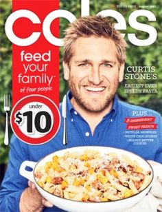 Coles Magazine August Do you know what's in and what's hot in the Coles Australia for this week? Coles Recipe, The Family Stone, Nutella Brownies, Weekly Specials, Peanut Butter Cookies, Cooking Tips, Sweet Treats, Easy Meals, Magazine