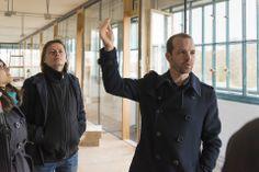 Tabakfabrik Linz: Netural CEO Albert Ortig bei einer Führung durch die künftigen Räumlichkeiten.