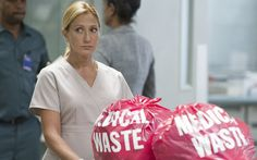 """Edie Falco stars in Showtime's """"Nurse Jackie."""" It is the series last season.  I'm rooting for Jackie to stay clean. But, after all of the lies if she sues for her job & wins with more lies, I'll be extremely disappointed. It will send a bad message to all who have honestly fought addiction on their own. Jackie takes everyone she meets down with her(even in recovery). Eddie is the definition of  an enabler."""