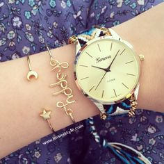 Friendship bracelet watch – Imsmistyle.