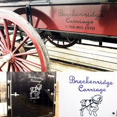 Breckinridge Carriage's logo looks awesome!!! It's been a fun project 😃 thanks so much for offering to include my logo to your trailers & wagons!! Done by KT's Home Decor & Designs 💜