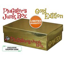 Win Today's Giveaway of the Day - Plugster's SOLD OUT Gold Edition Junk Box - LAST CHANCE - Drawing July 31th @ 3PM EST