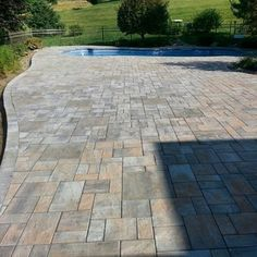 Paver color: Toffee