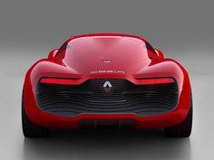 Renault has just unveiled - ahead of the Parisian Auto Show - their new concept car. The Renault DeZir is an all electric, shapely driving machine. Bugatti, Lamborghini, Ferrari, Porsche, Audi, Maserati Quattroporte, Nissan, Sexy Cars, Hot Cars