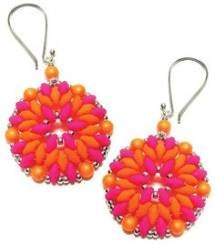 free Bodacious Earrings and Pendant pattern