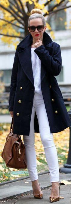 15 tendencias de Abrigo azul marino outfit para explorar