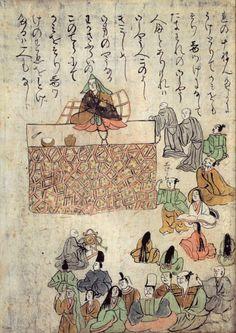Japanese Art: The beginings of Japanese manga. 900 -1300 AD.