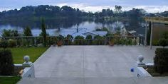 Image result for concrete landscaping