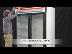 Glass door merchandisers are great for a variety of applications. Check out this quick video and see which one is best for you or visit www.Katom.com for more information.