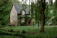 Another Pinner Said--English cottage, with bigger windows and in a different setting maybe? Cosy