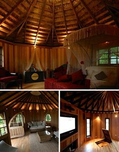 Tree house interior.