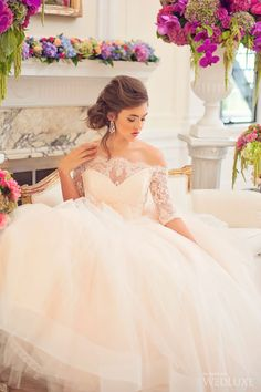WedLuxe– Dreaming in Watercolour | Photography by: Vasia Weddings Follow @WedLuxe for more wedding inspiration!