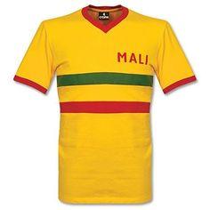 Camiseta Retro de Mali 1980 s Local  mali  retro  shirt Camisetas Retro bca17b29df219
