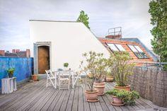 Incantevole terrazza sul tetto | Fantastic Frank