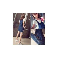b54f54af4b4 メルカリ商品: かわいい サロペット スカート おしゃれで人気 ゆったり 体型カバー #メルカリ