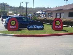 "Golf Digest ""Hot List"" demo day."