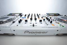 CDJ-2000, DJM 900 Nexus White Limited Edition.  Mmmmmm