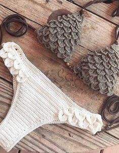 38 Summer Free Crochet Bikini Pattern Design Ideas for This Year - Page 16 of 38 - Daily Crochet! 38 Summer Free Crochet Bikini Pattern Design Ideas for This Year - Page 16 of 38 - Daily Crochet! Motif Bikini Crochet, Crochet Bikini Bottoms, Crochet Shawl, Crochet Baby, Free Crochet, Crochet Shorts, Baby Bikini, Bikini Modells, Crop Top Bikini