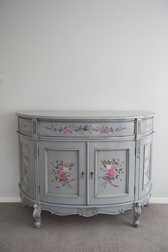La Maison Boutique - IN STOCK NOW: Hand painted sideboard, $920.00 (http://www.lamaisonboutique.co.nz/hand-painted-sideboard/)