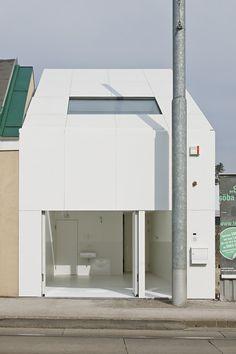 Casa CJ5, Viena (Austria) | Caramel Architekten  # Vivienda entre medianeras