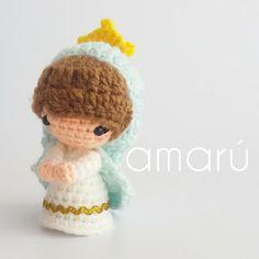 Crochet Toys Patterns, Stuffed Toys Patterns, Perro Labrador Golden, Diy Crochet, Crochet Hats, Crochet Angels, Chrochet, Pebble Art, Free Pattern