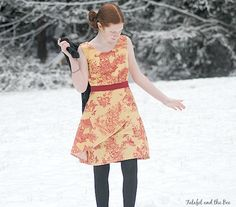 Colette Patterns Truffle, pattern from the Colette Sewing Handbook, made by Michelle White #sewing